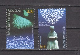 2002 Croatia Joint Issue With Belgium (Yv. 584-85)  2 – MNH - Croatie
