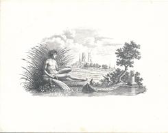 """Carte à 2 Volets Loiret / Orléans Exposition D' André Gaspard Parfait De Bizemont """" Château De Sully Sur Loire """" - Sully Sur Loire"""