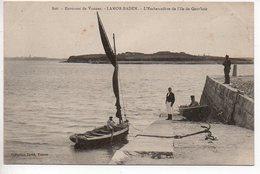 Larmor-Baden : L'embarcadère De L'Ile De Gavr'inis (Gravinis) - France