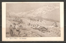 Carte P ( Suisse / Bobsleigh ) - Sports D'hiver