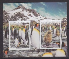 Chile 1996 Antarctica / Penguins M/s ** Mnh  (40973A) - Postzegels