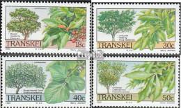Südafrika - Transkei 242-245 (kompl.Ausg.) Postfrisch 1989 Bäume - Transkei