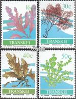 Südafrika - Transkei 214-217 (kompl.Ausg.) Postfrisch 1988 Meeresalgen - Transkei