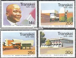 Südafrika - Transkei 193-196 (kompl.Ausg.) Postfrisch 1986 Unabhängigkeit - Transkei