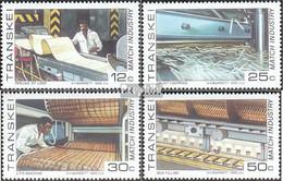 Südafrika - Transkei 172-175 (kompl.Ausg.) Postfrisch 1985 Streichholzindustrie - Transkei