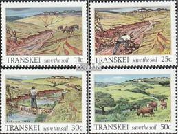 Südafrika - Transkei 163-166 (kompl.Ausg.) Postfrisch 1985 Bodenerhaltung - Transkei