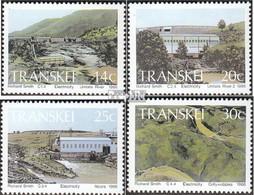 Südafrika - Transkei 189-192 (kompl.Ausg.) Postfrisch 1986 Wasserkraftwerke - Transkei