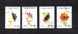 Sao Tomé Y Príncipe   1993    .  Y&T  Nº   1153/1156 - Sao Tome Et Principe