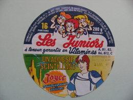 Etiquette Fromage Fondu - Les Juniors -16 Portions Entremont 74 R Pub JOYCE - Haute-Savoie  A Voir ! - Cheese