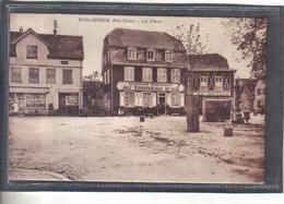 Carte Postale 67. Dorlisheim  Brasserie Au Tonneau D'Or  Bock De Mutzig    Très Beau Plan - France