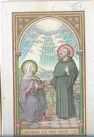 DI/6/    S.MONICA + S.AUGUSTINUS  ZENDING 1911  DR.EP GOETSCHALCKX TE DONK      LITHO +  GOUDOPDRUK - Religion & Esotericism