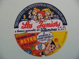 Etiquette Fromage Fondu - Les Juniors - 8 Portions Entremont 74 R Pub ASTRO Le Petit Robot - Hte-Savoie  A Voir ! - Cheese