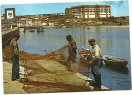 N.  388.-  VILA  DO  CONDE  PANORAMICA  DO  RIO  AVE  CONVENTO   DA  ST  CLARA   [SEC.XVIII] - Porto