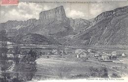960-LIGNE DE GRENOBLE A GAP-LA GARE DE CLELLES ET LE MONT-AIGUILLE 1908 - Zonder Classificatie