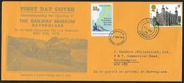 1978 - GREAT BRITAIN - Cover [FDC] + Railway + SG 1054 + SEASCALE - 1971-1980 Em. Décimales