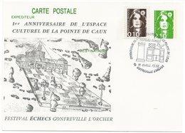 CP Entier Postal 1992 : Festival Echecs 76 Gonfreville L'orcher(réf A0814) - Entiers Postaux