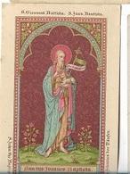 DI/6/    S.JOANNES BAPTISTA    LITHO +  GOUDOPDRUK - Religion & Esotericism