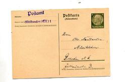 Carte 6 Hitler Circulée - Germany