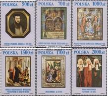 Polen 3306-3311 (kompl.Ausg.) Postfrisch 1991 Nationalmuseum Krakau - 1944-.... Republik