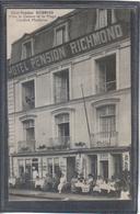 Carte Postale 76. Dieppe Hotel Pension RICHEMOND   Très Beau Plan - Dieppe