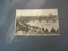 Cp The Thames At Waterloo Bridge LONDON. Belle Carte - Autres