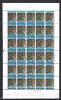 Belgie - Belgique 2070 - Sint Franciscus Van Assisi  - Velletje Van 30 Postfris - Feuillet De 30 Timbres - Feuilles Complètes