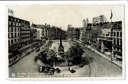 CPA - Carte Postale -BELGIQUE -Bruxelles - Place De Brouckère - S2810 - Places, Squares