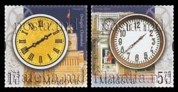 Moldova 2018 Mih. 1063/64 Chisinau Clocks MNH ** - Moldova