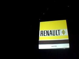 Boite D Allumettes  Publicitaire Pleine  Pub Renault  Garage Peroux A Macon - Boites D'allumettes