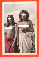 Paraguay Dos Niñas Indígenas De Paraguay Etnie Culture Woman Femme - America