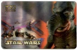 Italy Westel Intelcom - IT-WES-069 Star Wars - Watto (3D Card) MINT - [2] Sim Cards, Prepaid & Refills