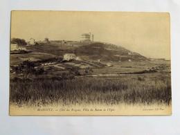 Carte Postale Ancienne : 64 BIARRITZ : Côte Des Basques, Villa Du BARON DE L'EPEE - Biarritz