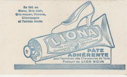 Buvard & Blotting Paper -  PATE Adhérente LIONA - LION NOIR - Chaussures - Blotters