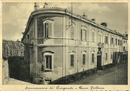 """1555 """" SANNAZZARO DE' BURGONDI - CASA POLLONE """" CART. POST.  OR.  NON SPED. - Altre Città"""
