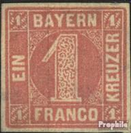 Bavière 3 Beau (b-Qualité) Oblitéré 1850 Paragraphe Dans District - Beieren