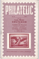 LOUIS MICHE COUTURIER / PHILATELIC 1959 - Catalogues De Maisons De Vente