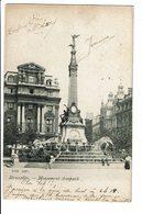 CPA - Carte Postale -BELGIQUE -Bruxelles -Monument Anspach-1908-  S2814 - Monumenten, Gebouwen