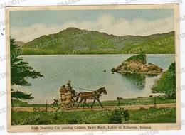 Ireland - Irish Jaunting Car Passing Colleen Bawn Rock Lakes Of Killarney - Ireland