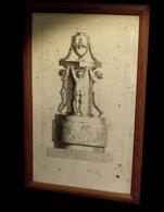 [ARCHITECTURE Gravure Ancienne] - Projet De Fontaine. - Engravings