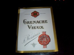 Etiquette  Neuve Grenache Vieux Rossinés A Collioure - Other