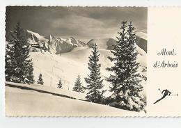 74 Haute Savoie - Mont D'arbois Les Pentes Du Ski Et Le Mont Joux Ed Photo Le Moult - France