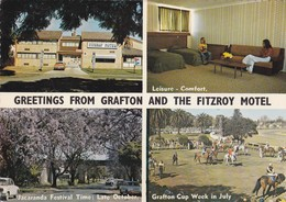 Postcard Greetings From Grafton And The Fitzroy Motel New South Wales NSW My Ref  B23166 - Australia