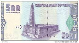 YEMEN ARAB P. 31 500 R 2001 UNC - Yémen