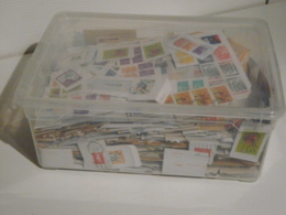 La Caisse De Timbres De FRANCE - Timbres Sur FRAGMENTS PAPIERS A DECOLLER - Années 1970 à 2000 Environ - Stamps