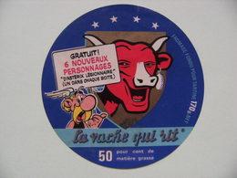 """Etiquette Fromage Fondu - Vache Qui Rit - Bel Portion 170g Pub Astérix D'Uderzo&Goscinny """"Astérix Légionnaire""""  A Voir ! - Cheese"""