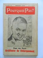 Pourquoi Pas ? JACQUES OCHS - 44 E Année - 4 Juin 1954 - N° 1853 - Hugo Van Kuyck - Architecte Du Débarquement - Libri, Riviste, Fumetti