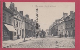 62 - MARQUISE--Place De La Liberté--attelage---animé - Marquise