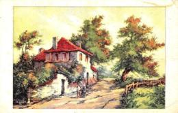 [DC7642] CPA - CASA DI CAMPAGNA - Non Viaggiata - Old Postcard - Pittura & Quadri