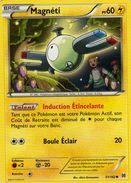 Carte Pokemon 54/162 Magneti 60pv 2015 - Pokemon