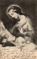 [DC7657] CPA - MADONNA DI C. DOLCI - Viaggiata 1903 - Old Postcard - Vergine Maria E Madonne